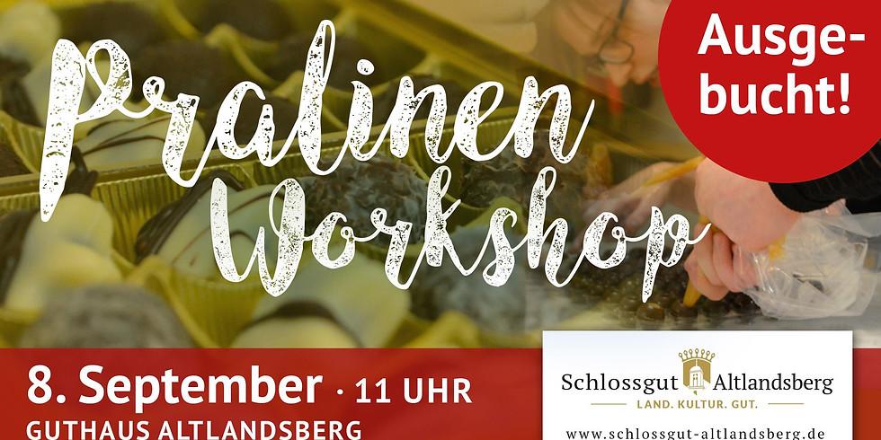 Pralinen-Workshop im Gutshaus