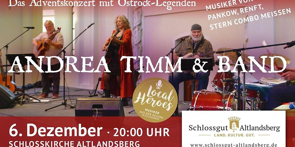 Andrea Timm & Band: Ostrock-Legenden zum Advent