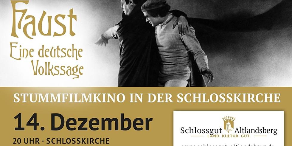 Stummfilm-Konzertabend: Faust