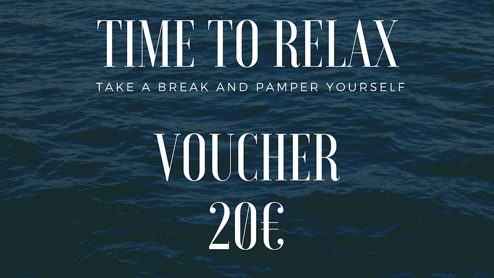 PAMPER YOUR SELF - VOUCHER 20€