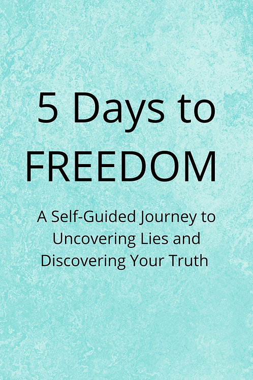 5 Days to Freedom Self-Guided Course