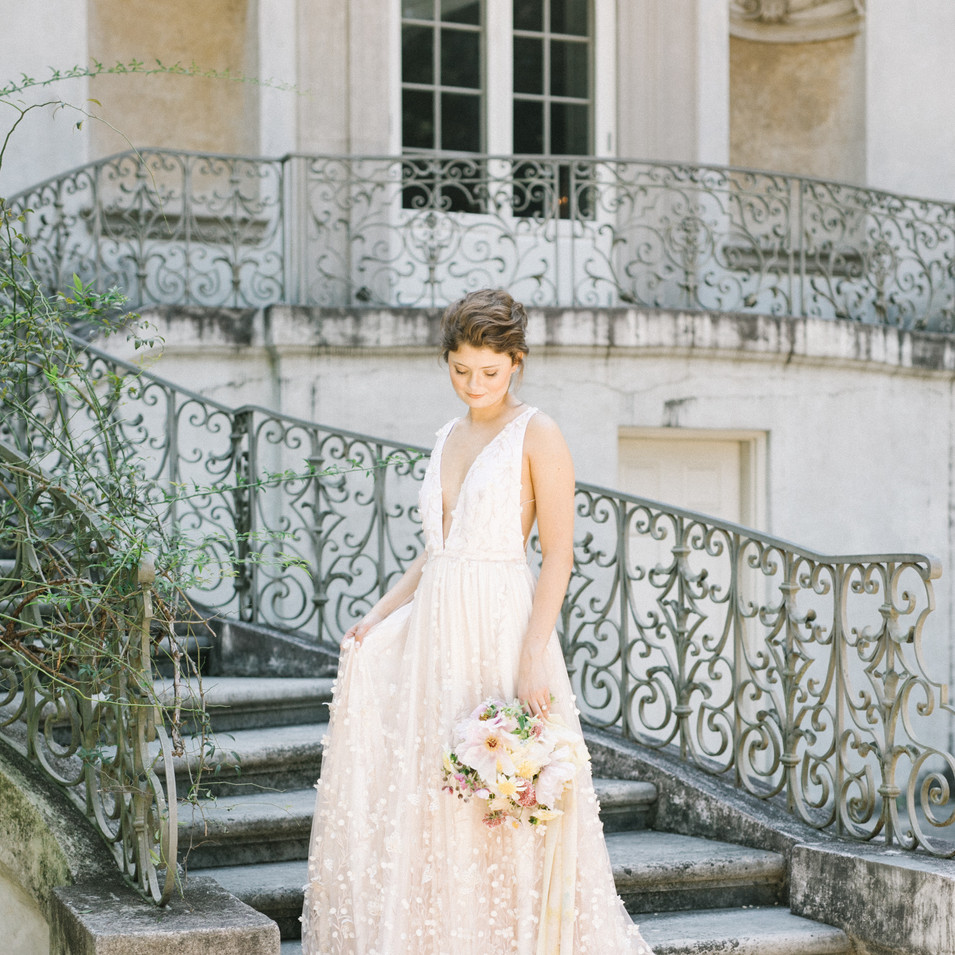Swan House Bridal Portraits