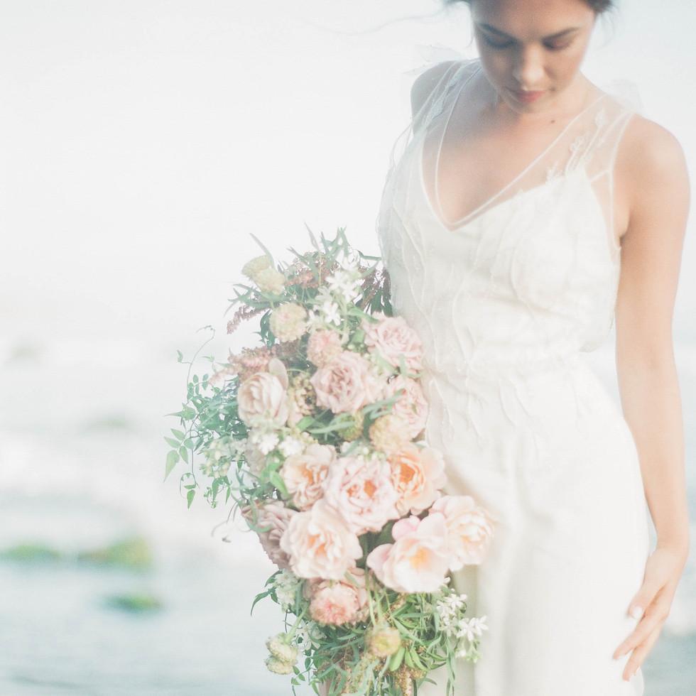 Beach Bridal Portraits