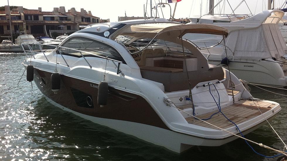 SESSA MARINE C38 - 2011-Nautique Park-Vente bateaux d'occasion-Port Grimaud-Var