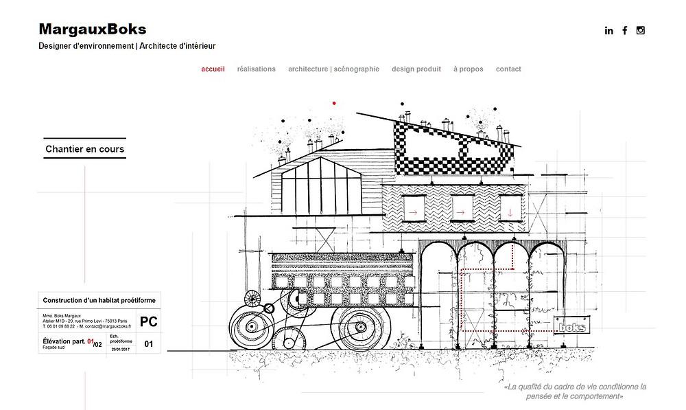 MARGAUXBOKS, design, architecte d'intérieur | Enanti |Formation Création Site web Internet | saint raphael | frejus | agence web au service des TPE