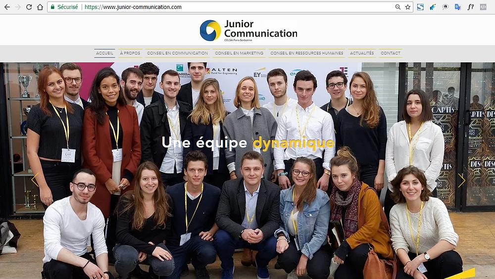 Junior Communication est la junior entreprise du Celsa Paris-Sorbonne, meilleure école de communication de France.