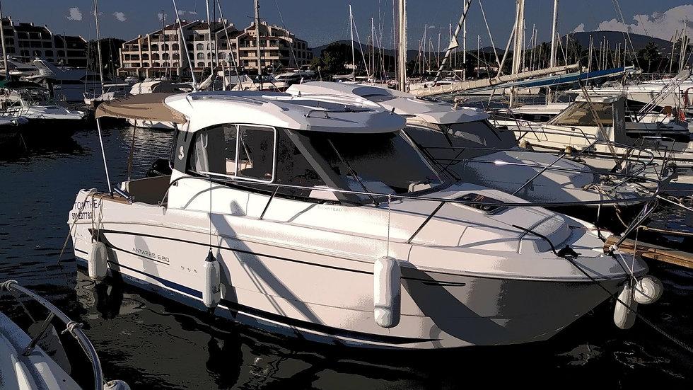 ANTARES 680-2010-Nautique Park-Vente bateaux plaisance occasion-Port Grimaud-Var