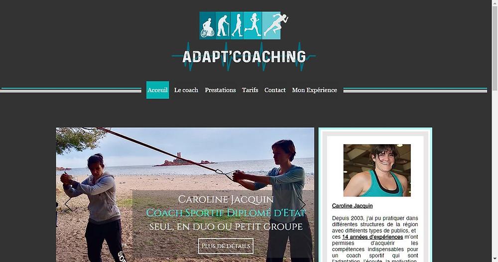 enanti agence web fréjus et adapt coaching coach sportif domicile