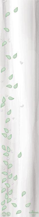 100 Etuis - Empreinte 16x80CM blanc