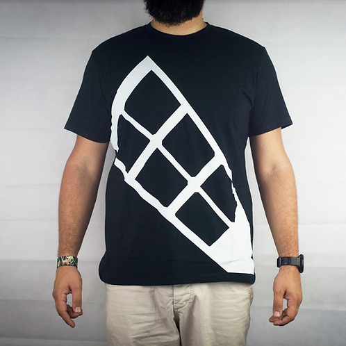 Windmill Graphic T-Shirt Black