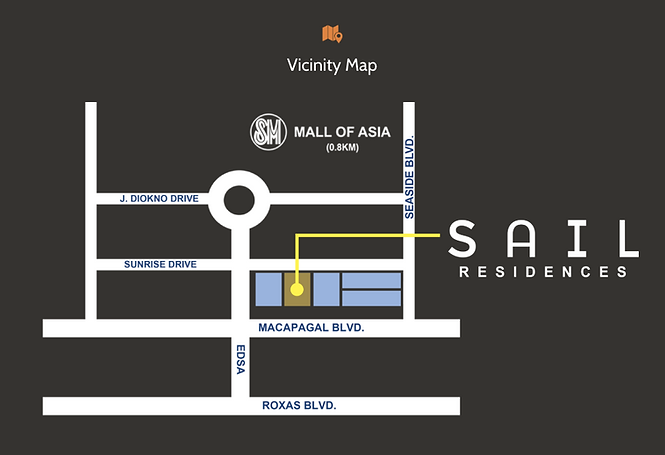 SMDC Sail Residences Location Map