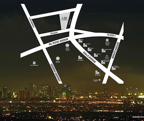 SMDC Air Residences - Location Map