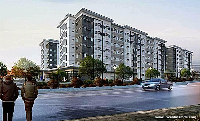 SMDC Air Residences - Building