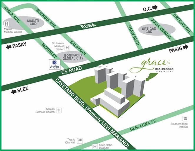 SMDC Grace Residences Location