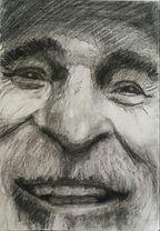 charcoal drawing portrait Kirina Knight oil acrylic portraits artist oxford taylor ms mississippi