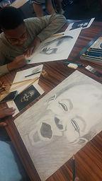 drawing classes lessons communiversity university Kirina Knight portrait artist oxford taylor ms mississippi art teacher