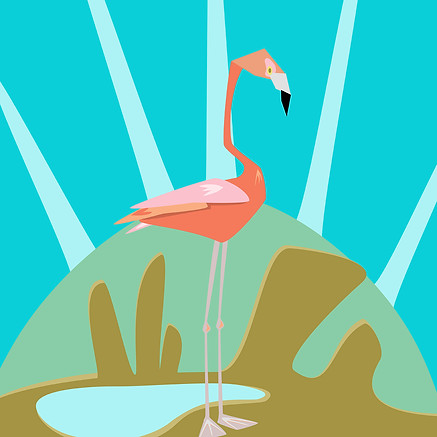 DOMINGO THE FLAMINGO