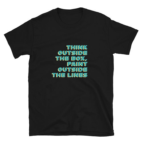 THINK OUTSIDE THE BOX  Gender Neutral T-Shirt
