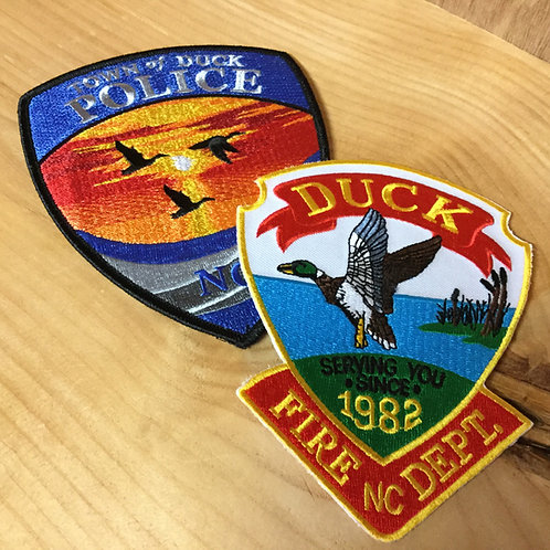 DUCK FIRE DEPARTMENT | DEPARTMENT PATCHES
