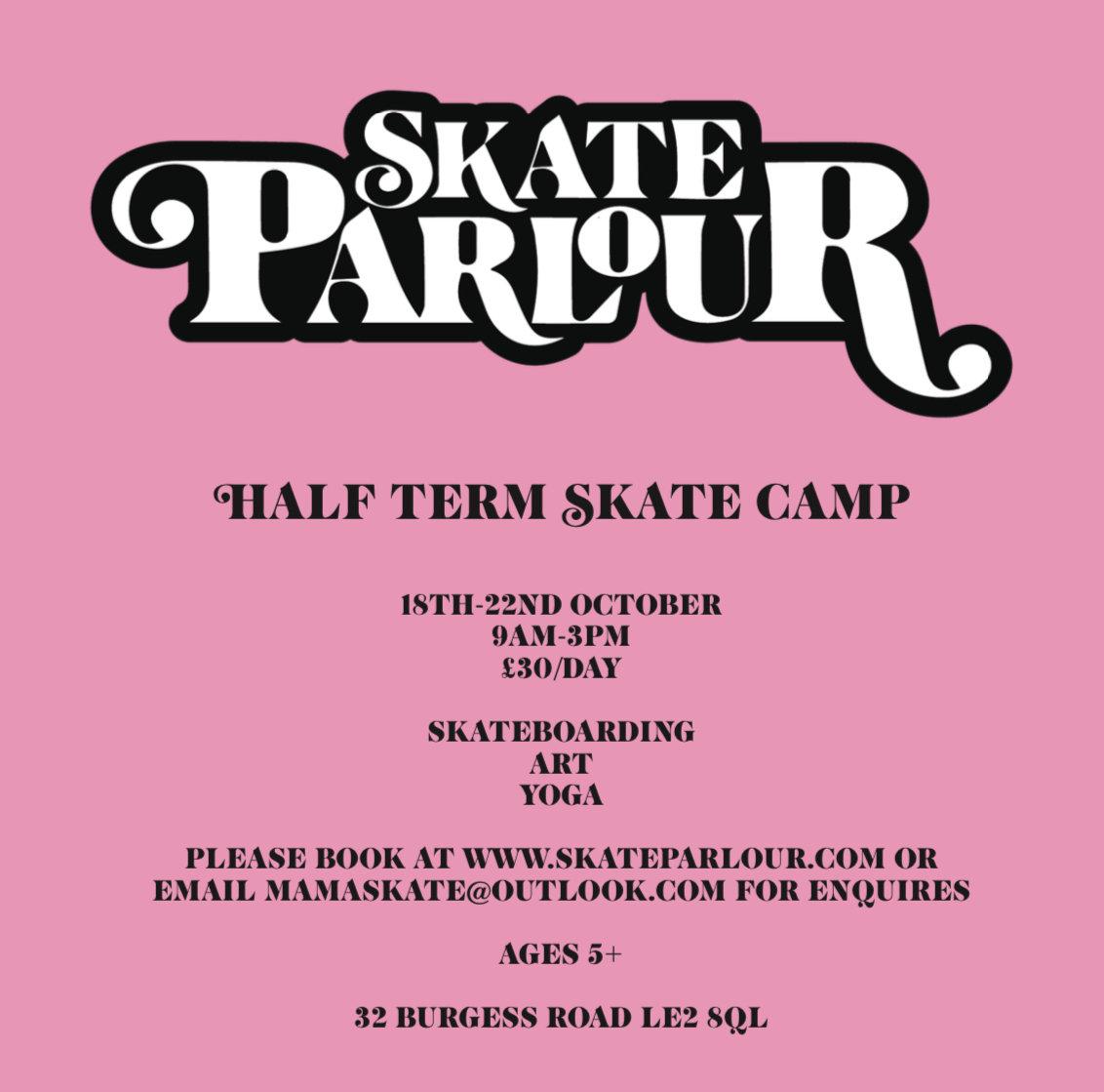 Half Term Skate Camp