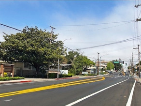 North San Mateo Drive Pedestrian and Bicycle Improvements Ready for Service!