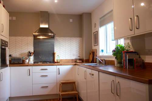 The McKay's Completed Kitchen