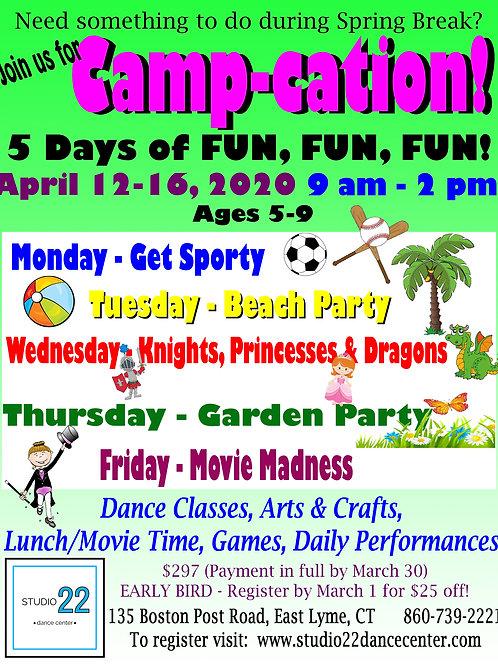 April Camp-cation