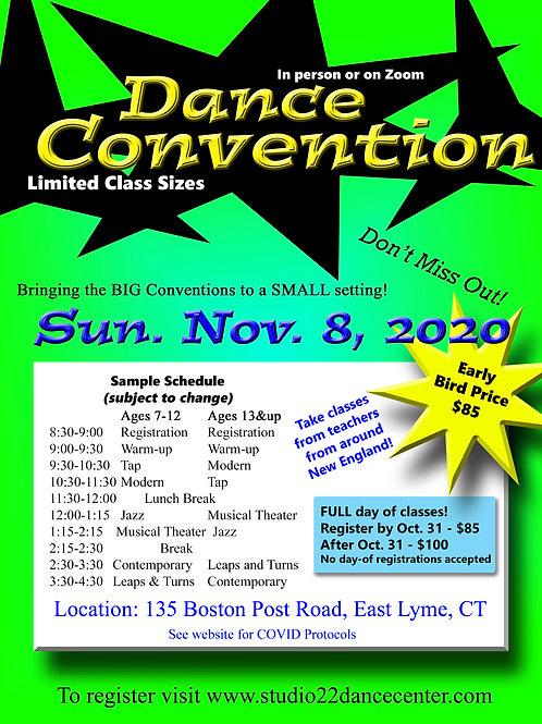 Dance Convention - Ages 12-18