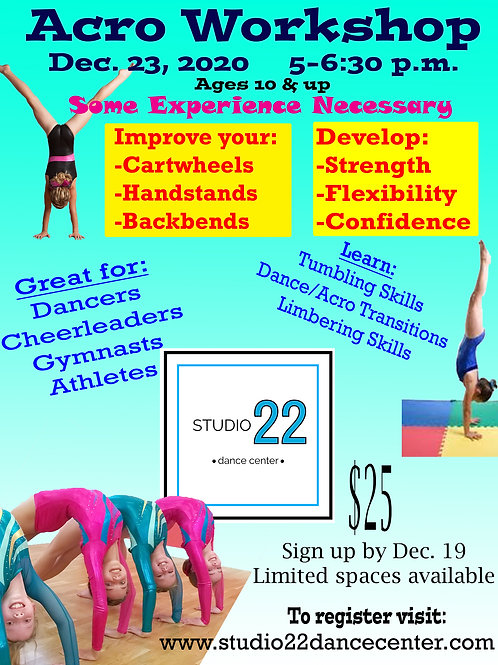 Acro Workshop