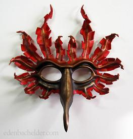 Fantasy cardinal mask