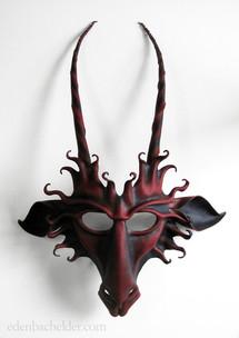 Goat or Baphomet mask