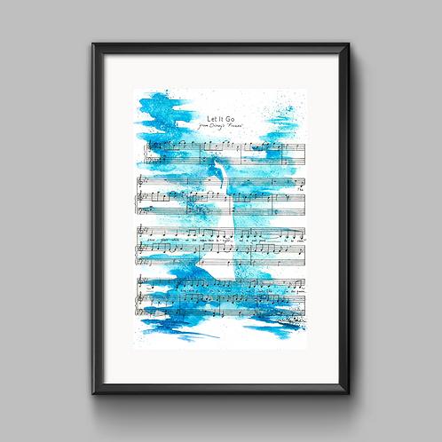 Let It Go (Frozen) Print