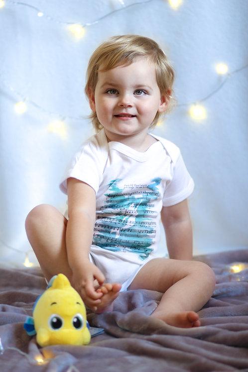 The Little Mermaid Baby Grow