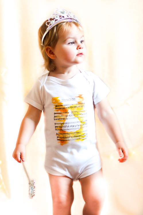 Beauty and the Beast Baby Grow