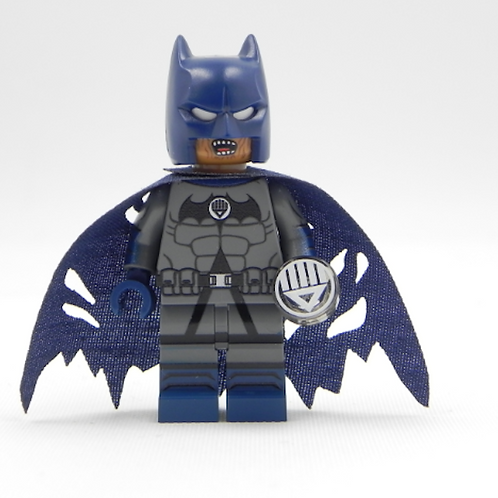 Batman Black Lantern Lego Superhero Custom minifigure LEGO blue cape DC Justice