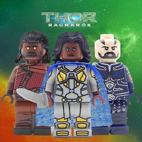 Thor Ragarok minifigure - All Lego part MINI FIGURE - Avengers Hulk Hero