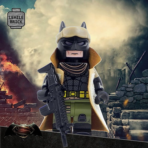 Knightmare Desert Batman minifigure - print on brik parts - CHIROPERIAN Nomad