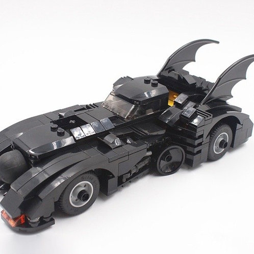 < LIMITED EDITION > MOC Lego 1989 THE BATMOBILE CAR BATMAN VEHICLE Burton film