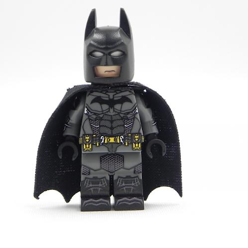 Batman Arkham Dark Grey Lego Superhero Custom minifigure LEGO Arkham DC Justice