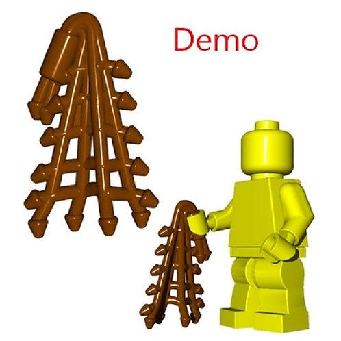 Custom Brown Retiarius Net Roman Gladiator Swordsman LOTR part Castle Lego Nexo