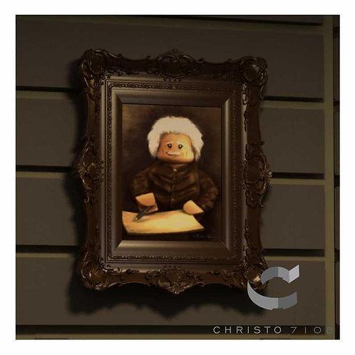 Christo Custom Fine Art Brick Painting - Albert Brickstein - LIMITED EDITION