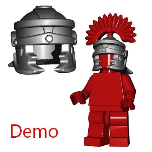 Custom Steel Roman Legionnaire Helmet Castle Gladiator Ancient Warrior fig king