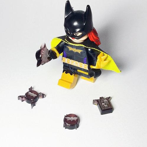 Bels Minifigures Dark Knight Nightingale with custom weapon