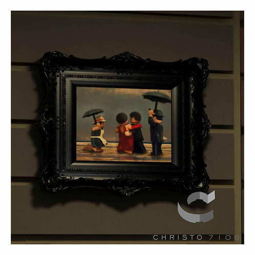 Christo Custom Fine Art Brick Painting - The Singing Brick Painting - LIMITED