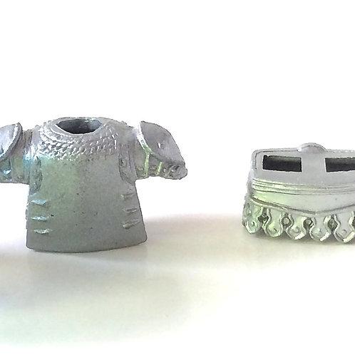 Pro custom set for Lego Medieval castle soldier knight Armor Heater shield Roman