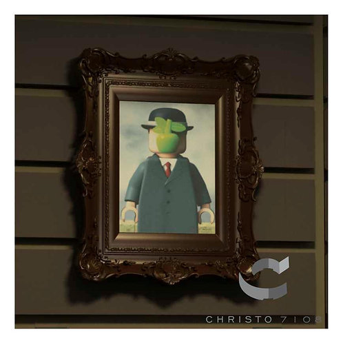 Christo Custom Fine Art Brick Painting - Son of Brick Painting - LIMITED