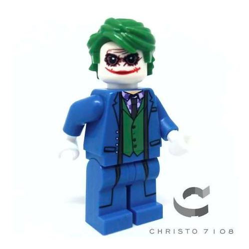 Christo Custom Joker in Blue Suit