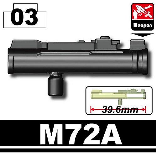 M72A anti-tank Launcher fig Modern warfare weapon minifig.cat rocket RPG army