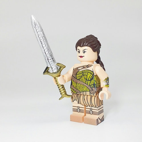 Bels Minifigures Princess of Valor with sword