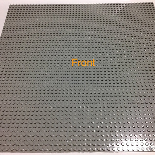 HUGE!! 50x50 GREY Base plate stand minifigure series piece baseplate compatible